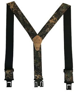 New Perry Mens Elastic Hook End Realtree XTRA Camouflage Suspenders (Reg & Tall)