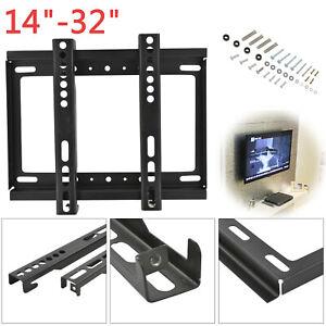 LCD TV Wall Bracket For Samsung Sony LG Panasonics 14 16 19 21 23 26 32 inch UK