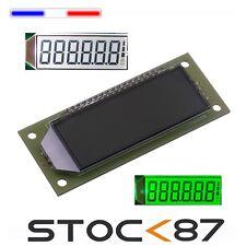 Ecran LCD 2.4-inch 6-bit 7 segments SPI HT1621 éclairage vert/blanc- green/white