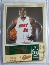 2004-05 Authentix Parallel Green club Box Shaquille O'neal#81 Ser#17/25 Nr-Mint