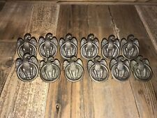 12 Antique Eagle Brass Cabinet Dresser Drawer Pull S-230-0 Vintage Furniture