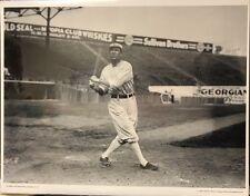 "8"" x 10"" PHOTO: TRIS SPEAKER OF THE BOSTON RED SOX SEPT 28, 1912 FENWAY PARK"