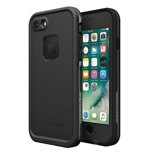 "Lifeproof FRE Waterproof Case For iPhone 7 (4.7"" Screen) Asphalt 77-53981"