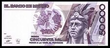 El Banco de Mexico 50,000 Pesos 20-DIC-1990, Series HE.  P-93b3 UNC
