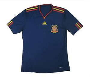 Spain 2010-11 Original Away Shirt (Excellent) L Soccer Jersey
