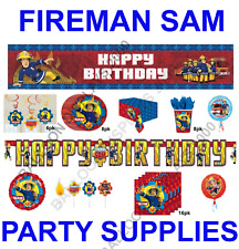 FIREMAN SAM - Birthday Party Tableware - Decorations