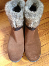 Spring Step 42 10.5-11 US  Women's Brown Leather Suede Boot