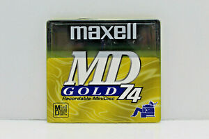 Maxell MD Gold 74 Recordable MiniDisc