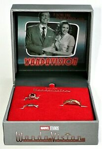 Marvel Studios WandaVision Wedding Ring Box Set New Vision Scarlet Witch