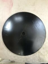 "Universal 20"" X 4.5"" Plain Disc Blade 1-1/8"" X 1-1/4"" Square double punch hole"