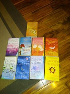 9 Catherine Anderson Book Lot