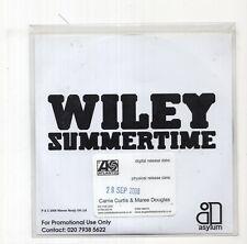 (JB626) Wiley, Summertime - 2008 DJ CD