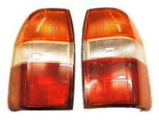 Paio di Lampade da Coda Posteriore LH + RH per MITSUBISHI l200 k74 2.5td 96 > Lente Arancione Top