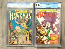 Hawkman #1 and #12 (1964 1966) CGC 4.5 8.0 1st Hawkman in Own Title
