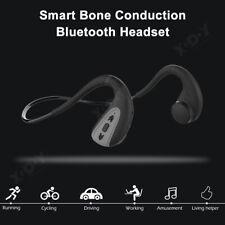 IPX8 Bone Conduction Wireless Bluetooth 5.0 Stereo Sports Headphone Open Ear