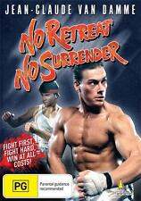NO RETREAT NO SURRENDER - VAN DAMME  NEW & SEALED  DVD FREE LOCAL POST