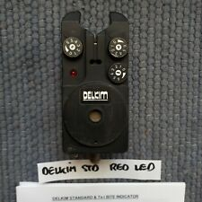 DELKIM STD RED GOOD COND + O Ring & INSTRUCTIONS CARP FISH