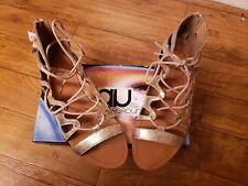 AIR UNDERGROUND Gold Gladiator  Sandals size 10