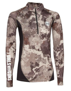 Girls with Guns Athletic Pullover/Alpine - Women's XS