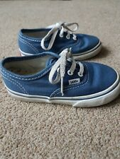 Vans blue pumps infant size 7