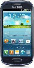 Samsung Galaxy S III Mini GT-I8200N- 8GB - Pebble Blue (Unlocked) Smartphone