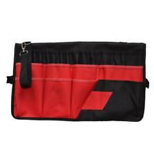 CANVAS TOOL ROLL 42-Pocket Spanner Wrench Tool Storage Bag Case Fold Up Home