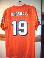 6533357c1a05 NFL Miami Dolphins  19 Brandon Marshall Boys Sz XL 18 - 20 Short Sleeve  Jersey