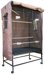 Large Bird Parrot Cage Aviary COVER WATERPROOF ONLY  97CM X 60CM X 130CM SUPREMO
