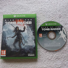 RISE OF THE TOMB RAIDER XBOX ONE V.G.C. FAST POST ( action/adventure & shooter )