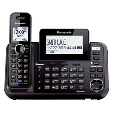 PANASONIC KX-TG9541B 2-LINE CORDLESS, LINK TO CELL, USB