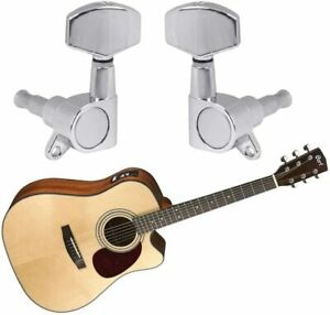 TIMESETL 5 Pieces Guitar Machine Heads Knobs Guitar String Tuning Pegs