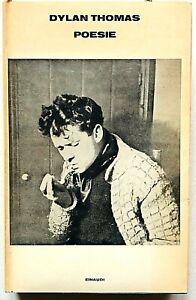 Dylan Thomas Poesie Einaudi 1970 Con testo a fronte Eugenio Montale
