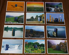 ** Dr Doctor Who ** Brand New Set of 12 Large Postcards - All Tardis - Fantastic