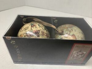 Authentic Models The Earth & The Heavens Two Globes Home Decor Globe World