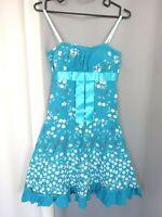 Très jolie robe légère été coton à fleures parfait Taille:S FR36 US4 UK8 EUR34