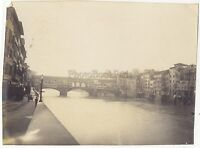 Florence Italia Foto Amateur Vintage Analogica Mat Ca 1900