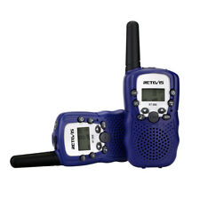 2xRetevis RT388 Kids Walkie Talkie  Free License Radio Flashlight 0.5W VOX Gift