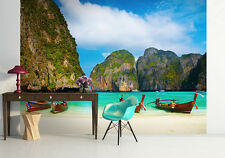 Mural wallpaper for living room & bedroom - photo wall - Maya bay Thailand