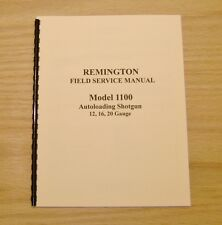 Remington Model 1100 Field Service Manual - Gunsmith -  Repair - #28