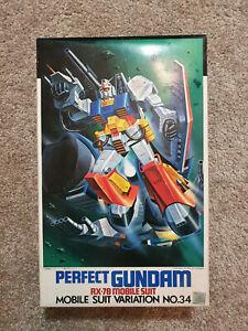 🌟BANDAI 1/100  Perfect Gundam RX-78 MSV No. 34 RARE VINTAGE Model Kit