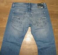 "G- STAR ORIGINALS RAW MORRIS LOW STRAIGHT JEANS / Hose in blau ca. W32"" /L31"""