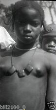 photographie artistique . Guinée . négatif originale des années 50