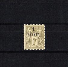 Maroc  colonie Francaise Sage 1p sur 1f olive de 1891  num: 7 neuf  **