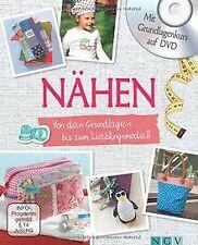 Nähen - Mit Grundlagenkurs auf DVD: Von den Grundla... | Buch | Zustand sehr gut