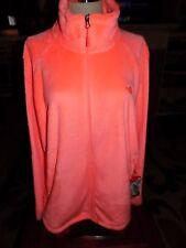 NWT The North Face Osito 2 Women's Fleece Jacket NEON PEACH Size  XL  $99