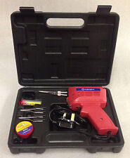 150W ELECTRIC ELECTRICAL SOLDER SOLDERING IRON GUN KIT 240V - 2 SPARE TIPS NEW