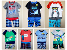 *NWT- CARTER'S - BABY TODDLER BOY'S 3-PC KNIT PAJAMA SET - SIZE: 18M - 5T