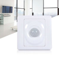 86MM Body Motion Sensor Switch Infrared Wall Mount LED Light Lamp Control SS