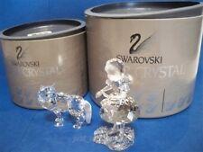 SWAROVSKI RED RIDING HOOD & WOLF RETIRED 191695 & 207549 BNIB COA