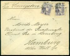 GUATEMALA : 1891 cover to Germany with nice markings